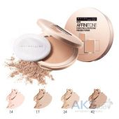 Пудра Maybelline Affinitone №24 golden beige