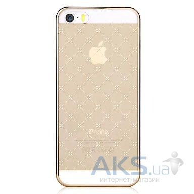 Чехол Vouni Glimmer Star Apple iPhone 5, iPhone 5S, iPhone 5SE Gold