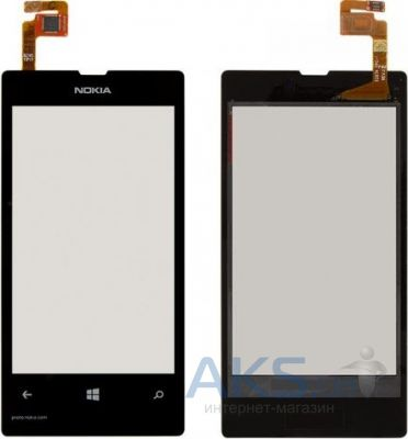 Сенсор (тачскрин) для Nokia Lumia 521 Original Black