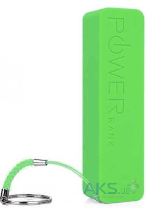 Повербанк power bank NICHOSI Power Bank 2000mAh Green
