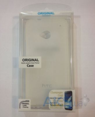 Чехол Celebrity TPU cover case for HTC One X White