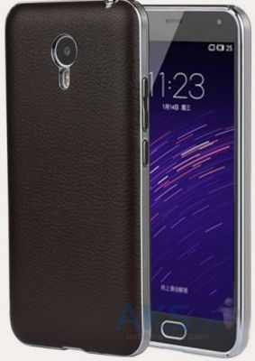 Чехол Anomaly Leather Series Meizu M2 Note Brown