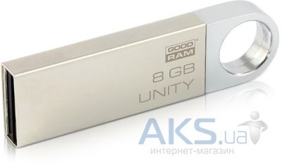 Флешка GooDRam Unity 8GB (PD8GH2GRUNSR9) White