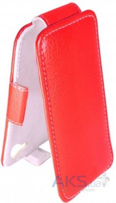 Чехол Sirius flip case Alcatel One Touch 8020d Hero Red