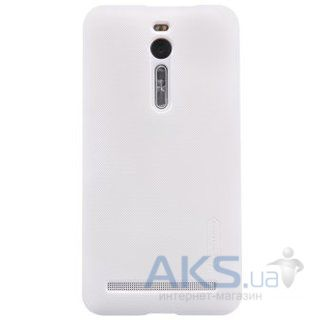Чехол Nillkin Super Frosted Shield Asus ZenFone 2 ZE550ML, ZE551ML White