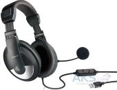 Вид 4 - Гарнитура для компьютера Speed Link THEBE Stereo Headset (SL-8743-SBK-02) Black