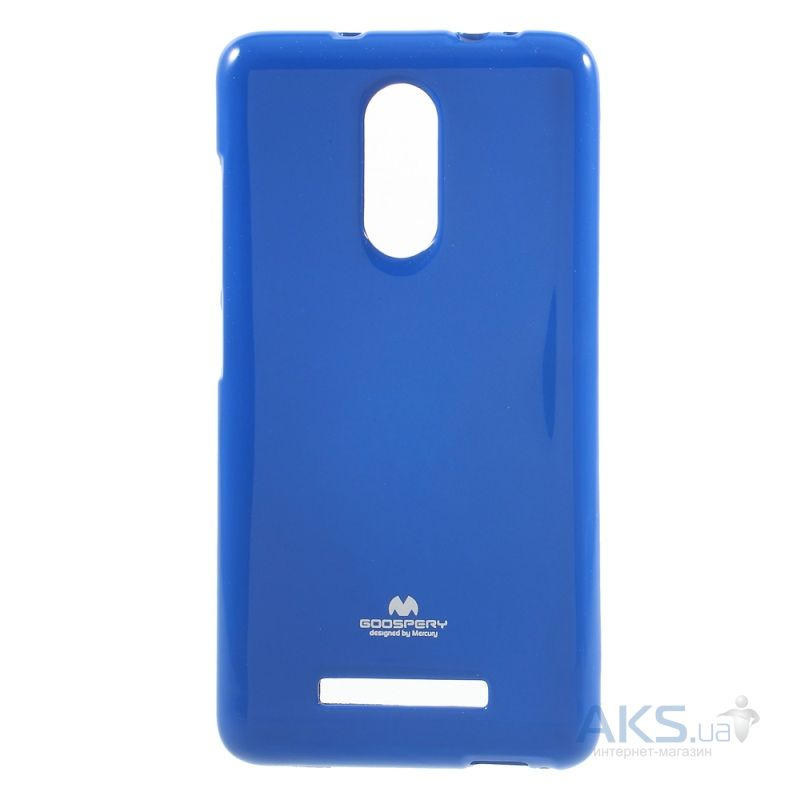 Чехол Mercury Jelly Color Series Xiaomi Redmi Note 3, Redmi Note 3 Pro Blue