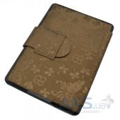 Вид 3 - Обложка (чехол) Leather case for Amazon Kindle Paperwhite Butterfly Gold Brown