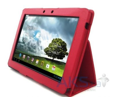 Чехол для планшета Asus leatherette case TF300 Transformer Prime Red