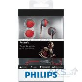 Вид 4 - Наушники Philips SHQ1200/10 ActionFit Orange