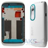 Корпус HTC Desire V T328w White/Blue