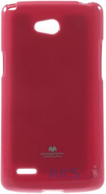 Чехол Mercury Jelly Color Series LG D380 L80 Dual Rose Red