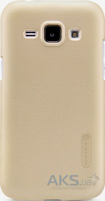 Чехол Nillkin Super Frosted Shield Samsung J100 Galaxy J1 Gold