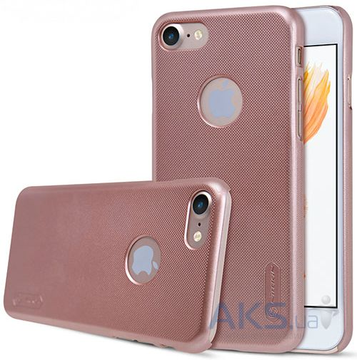 Чехол Nillkin Super Frosted Shield Apple iPhone 7 Rose Gold