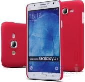 Чехол Nillkin Super Frosted Shield Samsung J700 Galaxy J7 Red