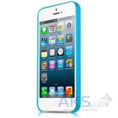 Вид 4 - Чехол ITSkins Zero.3 cover case for iPhone 5/5S Blue (APH5-ZERO3-BLUE)