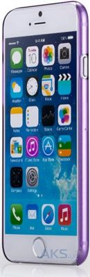 Чехол Momax Ultra Thin for Apple iPhone 6/6S Purple (CUAPIP6U)