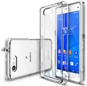 Чехол Ringke Fusion Sony Xperia Z3 Compact D5803 Crystal