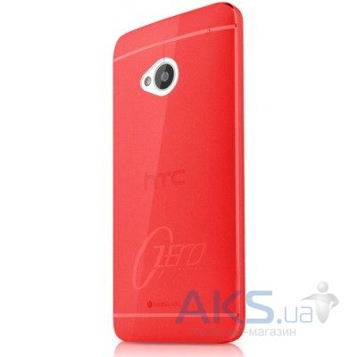 Чехол ITSkins Zero.3 cover case for HTC One (M7) Red (HTON-ZERO3-REDD)