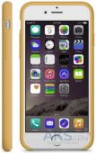 Вид 2 - Чехол Apple Leather Case for iPhone 6 Plus Gold (Hight copy)
