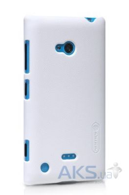 Чехол Nillkin Super Frosted Shield Nokia Lumia 720 White
