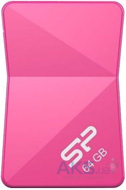 Флешка Silicon Power Touch T08 64GB Pink