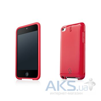 Чехoл Capdase Polimor Protective Case Polishe Red/Red for iPod touch 4G