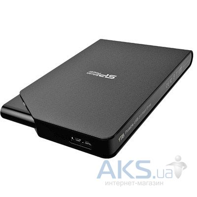 "Жесткий диск внешний Silicon Power 2.5"" 1TB Stream S03 (SP010TBPHDS03S3K) Black"