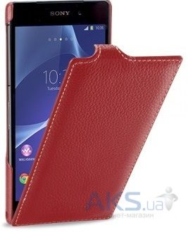 Чехол TETDED Leather Flip Series Sony Xperia Z2 D6502 Red