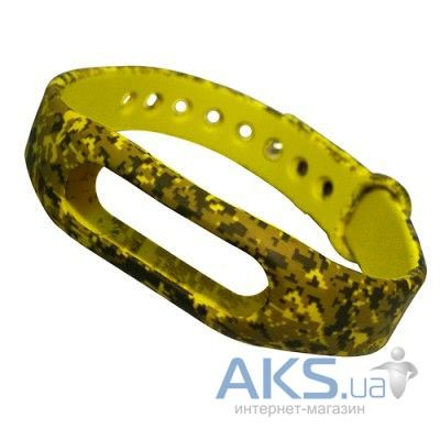Xiaomi Mi Band 1S Pulse ремешок Military Light Green (200378)
