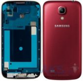 Корпус для телефону Samsung I9500 Galaxy S4 Red