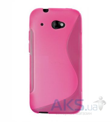 Чехол Celebrity TPU cover case for HTC Desire 601 Pink