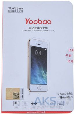 Защитное стекло Yoobao Tempered glass 0.3 mm straight edge for iPhone 4/4S [TGSPI4S]