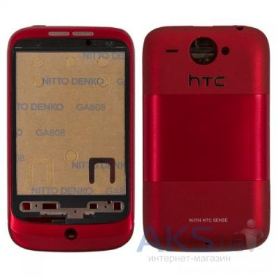 Корпус HTC Wildfire A3333 Red