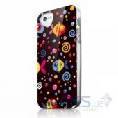 Чехол ITSkins Phantom for iPhone 5C Color Fish (APNP-PHANT-BLK1)