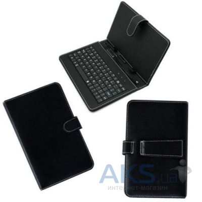 "Чехол для планшета A-Case BookPad Micro USB for Android 7-8"" Black"