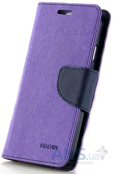 Чехол Mercury Fancy Diary Series Asus Zenfone 2 ZE551ML, Zenfone 2 ZE550ML Violet - Blue