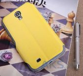 Вид 2 - Чехол Yoobao Fashion leather case for Samsung i9200 Galaxy Mega 6,3 Yellow (LCSAMI9200-FYL)