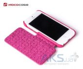 Вид 7 - Чехол Hoco Duke book leather case for iPhone 5C Rose Red (HI-L042)