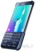 Вид 5 - Чехол Samsung Keyboard Cover Series G928 Galaxy S6 Edge Plus Blue Black (EJ-CG928RBEGRU)