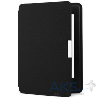 Обложка (чехол) Amazon Kindle Paperwhite Leather Cover Onyx Black