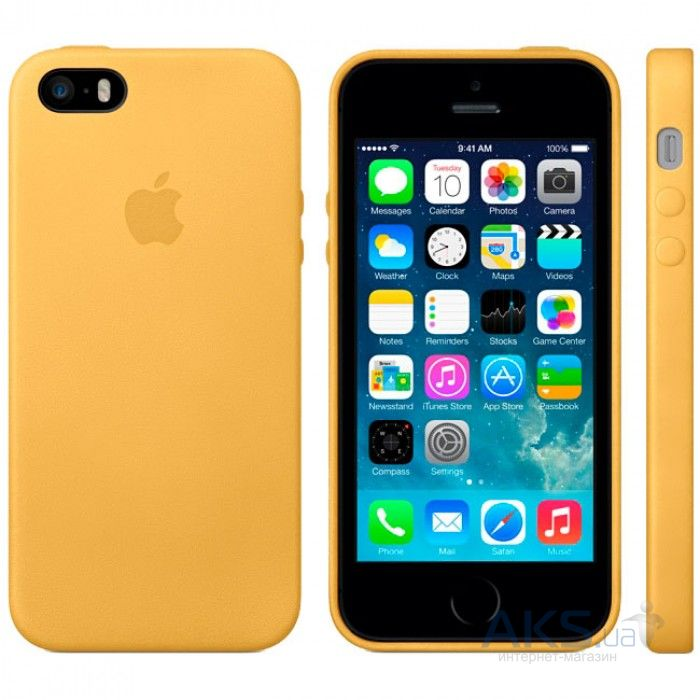 Чехол Apple HIGH COPY Case Apple iPhone 5, iPhone 5S, iPhone SE Gold