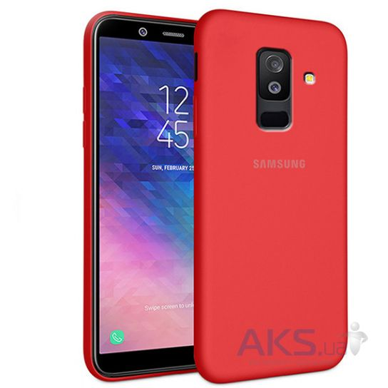 Чехол 1TOUCH silicone case Samsung A605 Galaxy A6 Plus 2018 Red
