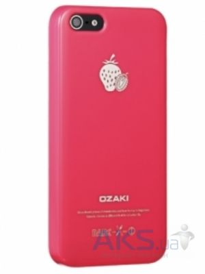 Чехол Ozaki O!coat Fruit Strawberry Apple iPhone 5, iPhone 5S, iPhone 5SE (OC537ST)
