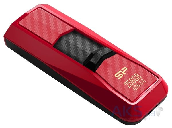 Флешка Silicon Power Blaze B50 256 Gb USB 3.0 (SP256GBUF3B50V1R) Red