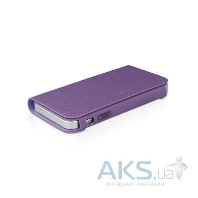 Чехол Macally Wallet Apple iPhone 5, iPhone 5S, iPhone 5SE Purple (WALLETPU-P5)