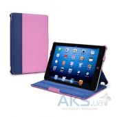 Чехол для планшета Tuff-Luv Protégé Faux Leather Case Cover (with Sleep Function) for the Apple iPad mini Navy / Pink (I7_19)