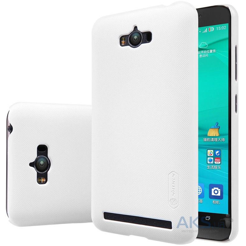 Чехол Nillkin Super Frosted Shield Asus Zenfone Max ZC550KL White