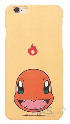 Чехол Original Ultra Thin TPU Pokemon Go Series Apple iPhone 6, iPhone 6S Charmander