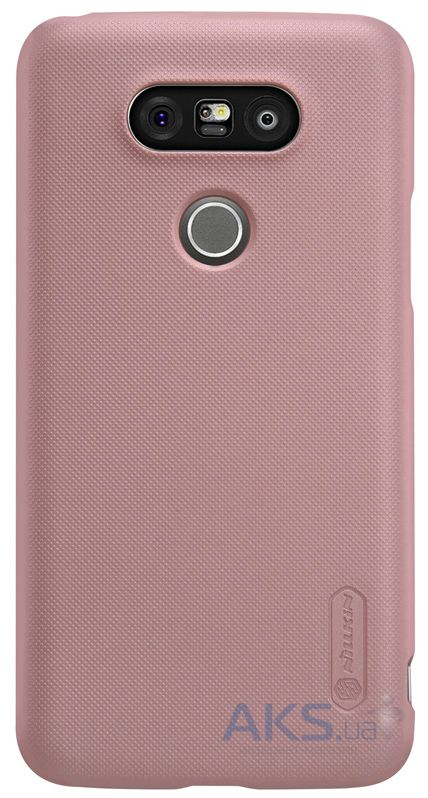 Чехол Nillkin Super Frosted Shield LG G5 H860, G5 SE H845 Rose Gold